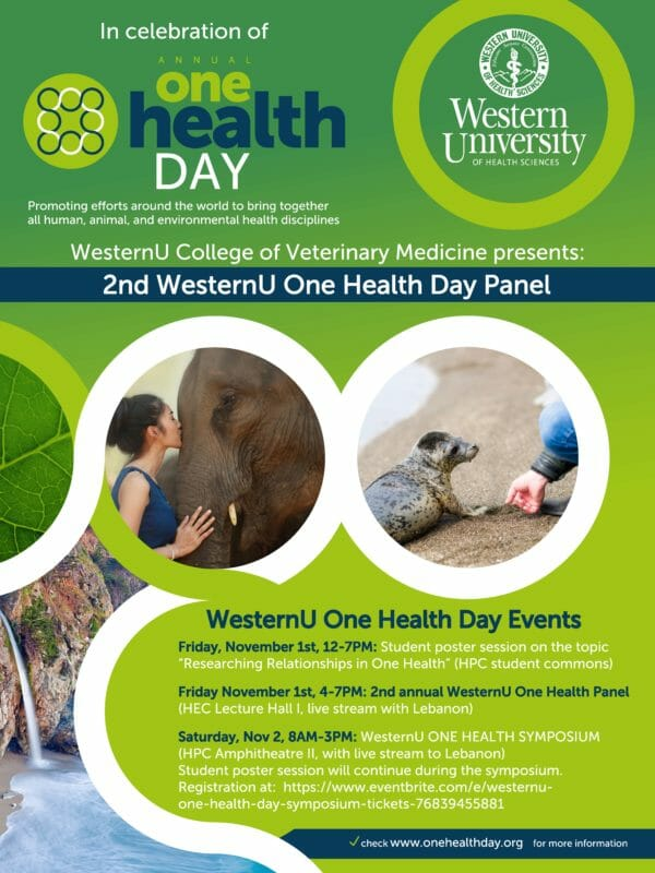 One Health Day poster image