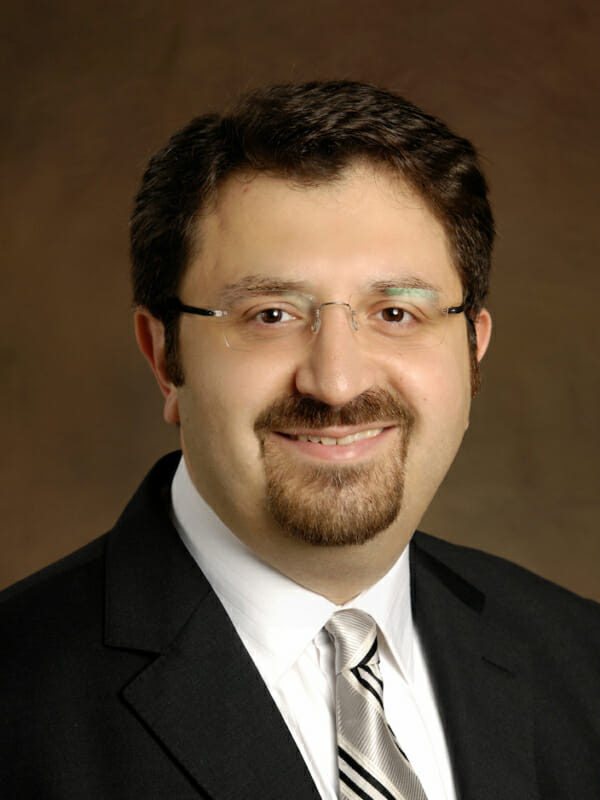 Portrait of Arbi Nazarian, PhD