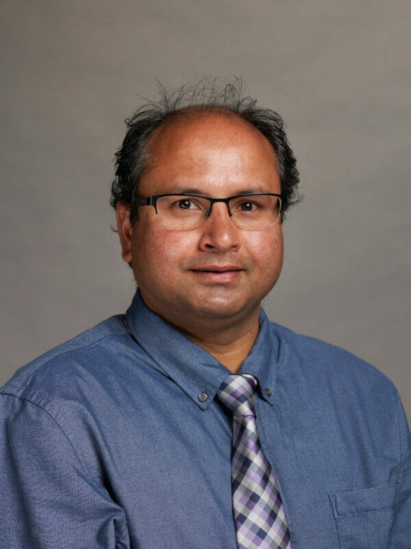 Portrait of Naveen Yadav, MS, PhD, FAAO