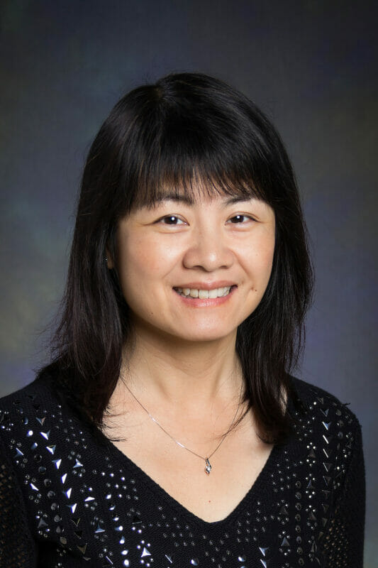 Portrait of Ying Huang, PhD, Master of Medicine, MD