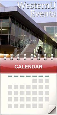 image of a calander with events