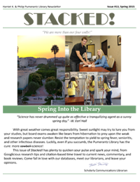 Spring 2015 Library Newsletter