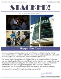 January 2016 Library Newsletter