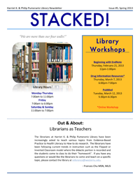 Spring 2013 Library Newsletter