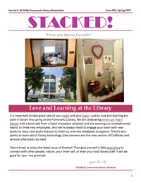 Spring 2017 Library Newsletter