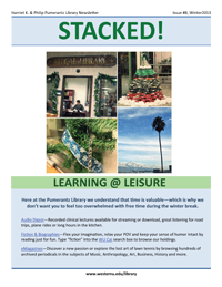 Winter 2013 Library Newsletter