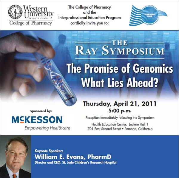 Ray Symposium 2011 flyer