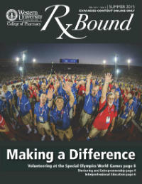 Cover of Summer 2015 RX Bound