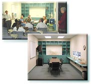 Two thumbnails depicting a classroom setting