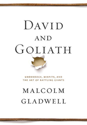 Picture of the book called david and goliath